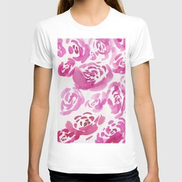 2     190412 Flower Abstract Watercolour Painting T-shirt