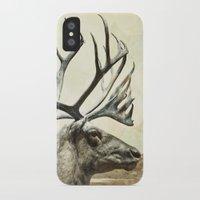 reindeer iPhone & iPod Cases featuring Reindeer by ZenzPhotography