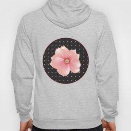 Pink flowers - Polka dots Hoody