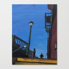 Blue Not Quite Night Canvas Print
