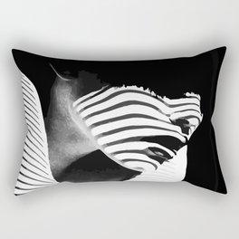 Shadow Lady Rectangular Pillow