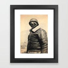 General Sloth Framed Art Print