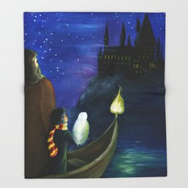 Harry's Journey Throw Blanket