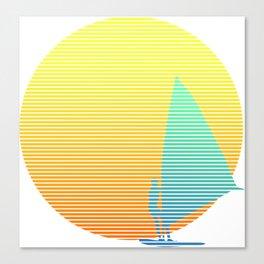 Summer Windsurfer Canvas Print