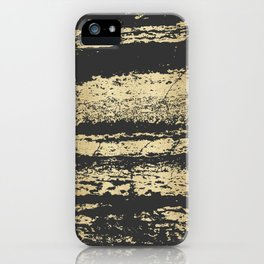 Marble Black Gold - Save Me iPhone Case