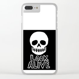 Look Alive Clear iPhone Case