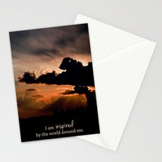 inspired by the world II Stationery Cards