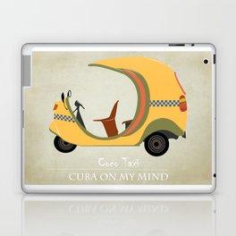 Coco Taxi - Cuba in my mind Laptop & iPad Skin