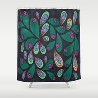 candy Shower Curtains featuring Candy by Sarah J Bierman