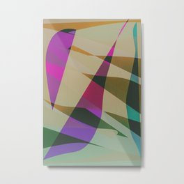 Abstract Composition No. 1 Metal Print