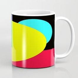 GETTING IN SHAPE - FUN SHAPED GEOMETRIC MULTI COLOURED DESIGN Coffee Mug