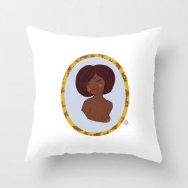 Valentine Pinup 2 Throw Pillow