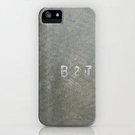 Urban Texture Photography - Airport Hangar Mats iPhone Case