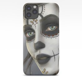 Day of the Dead Sugar Skull Girl Ultra HD iPhone Case
