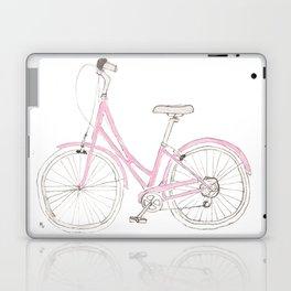 Pink Bike Laptop & iPad Skin