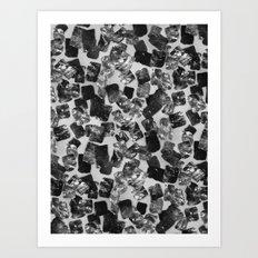 tear down (monochrome series) Art Print