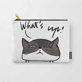 WHAT'S UP Carry-All Pouch