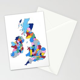 England, Ireland, Scotland & Wales Stationery Cards
