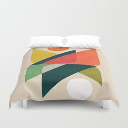 Reflection (of time and space) Duvet Cover