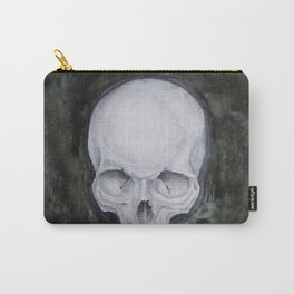 skull study No.4 (aka - Paul) Carry-All Pouch