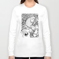 koi fish Long Sleeve T-shirts featuring Koi Fish by Disturbed