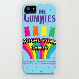 The Gummies, Magical Yummy Candy iPhone Case