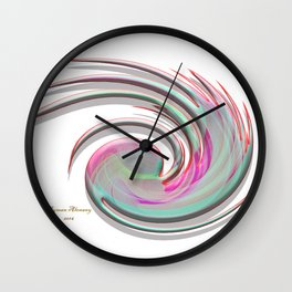 The whirl of life, W1.4A Wall Clock