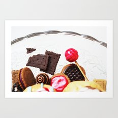 Candies and Cookies Art Print
