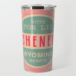Liz Cheney For Senate Travel Mug