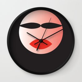 Hijab woman Wall Clock