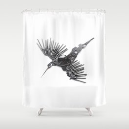 Rad's Birds Shower Curtain