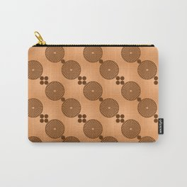 Chocolate Wheels Carry-All Pouch