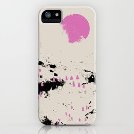 Pink vibe 1 iPhone Case