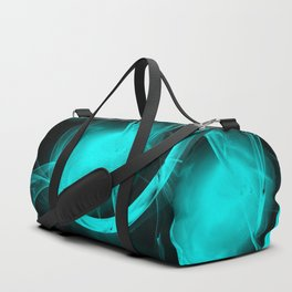 Through the glowing glass portal Duffle Bag