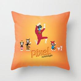 WB Pixel Nostalgia Throw Pillow
