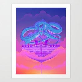 Kami's Lookout Art Print