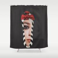 motivation Shower Curtains featuring Motivation by Jitka Kopejtkova