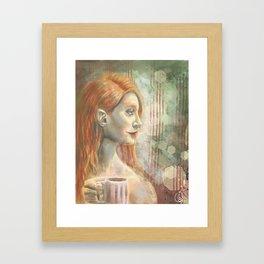 Winter - Mint Framed Art Print