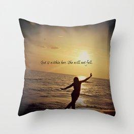 Psalm 46:5 Throw Pillow