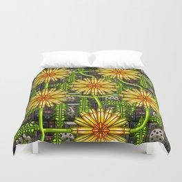 Dandelion Garden Duvet Cover