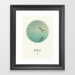 Stille Framed Art Print