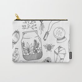 Witchy Items Collection, Nature Witch, Magic Carry-All Pouch