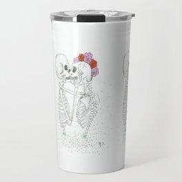 Rhythm In Your Bones by Maria Piedra Travel Mug