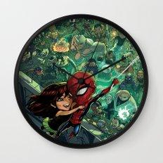 Lil' Spidey Wall Clock