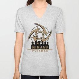 Ninjas in pyjamas! Counter strike team Unisex V-Neck