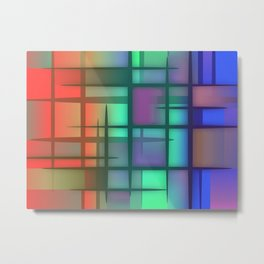 Abstract Design 6 Metal Print