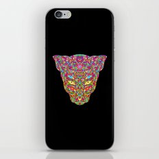 Colorful Cat iPhone & iPod Skin