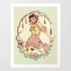 Gretel Art Print