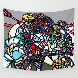 LAX Scramble Wall Tapestry