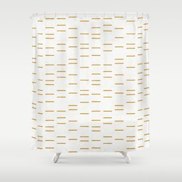 OCHRE LINE Shower Curtain